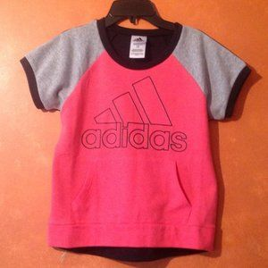 *2for$5 Adidas Short Sleeve Sweatshirt Sz. 14